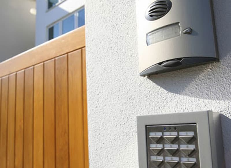 Pincode and Intercom System