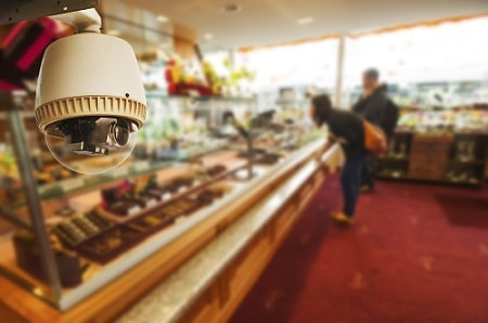 CCTV in an restaurant