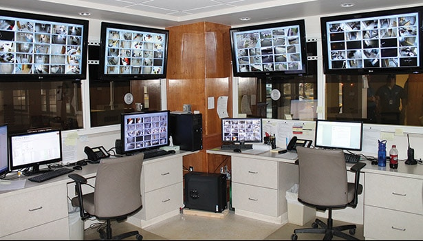video surveillance Monitoring station