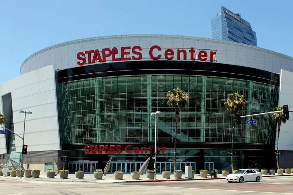 staples center los angeles