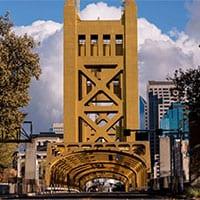 tower bridge sacramento ca