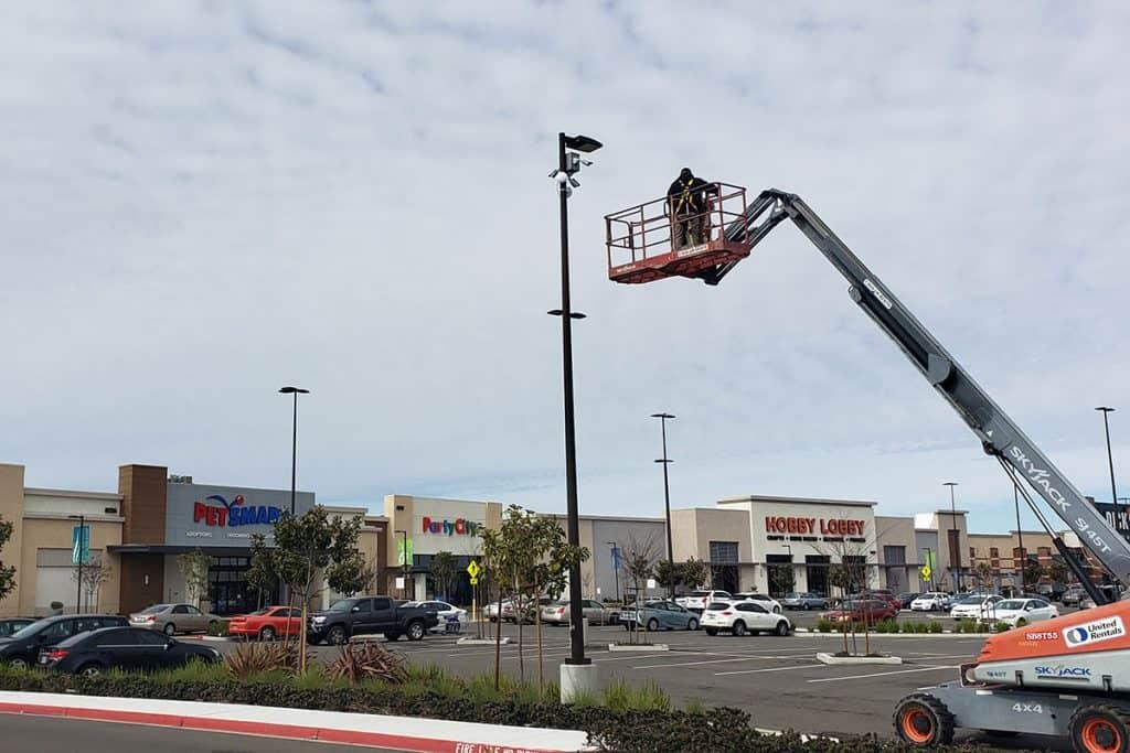 security camera installation Delta Shores