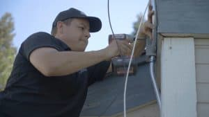 low voltage cabling installation