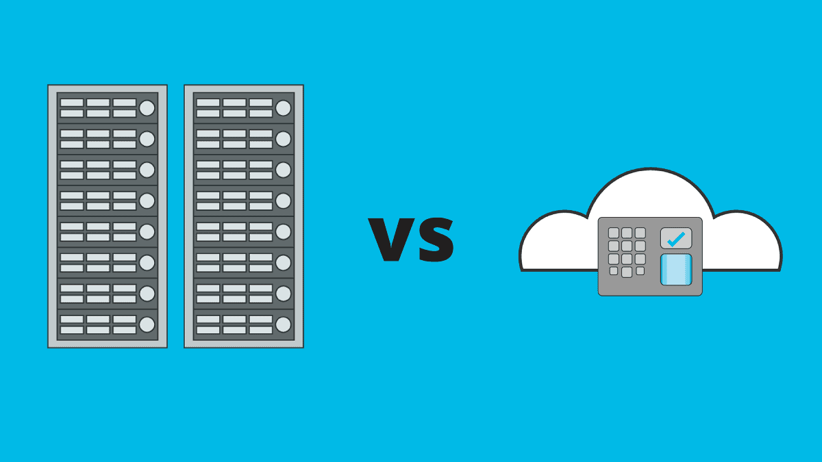Cloud based access control vs server based access control
