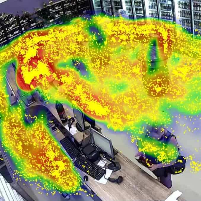 cctv heat map for retail