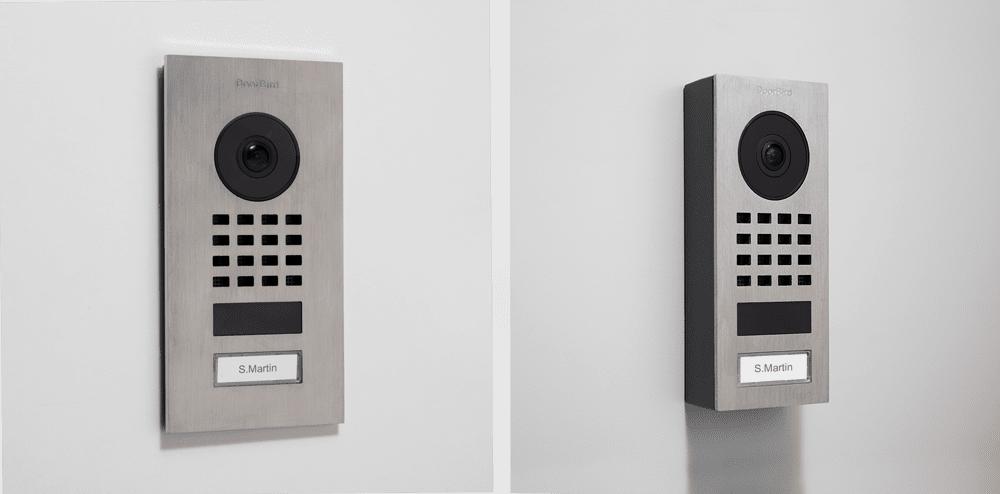 surface mount vs flush mount video intercom